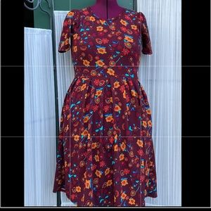 Fabulous fall dress- Size Large